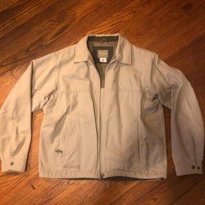 *NWOT* Men's Columbia Jacket Khaki Medium